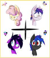 Four Characters Gathering by UltimateNightcore