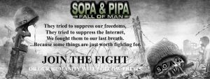 SOPA and PIPA: Fall Of Man by Guardian54