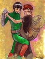 Dance in the Sand - LeeXGaara by suuanda