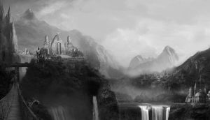 Ascension Forest Capitol concept, game design, by wind27382