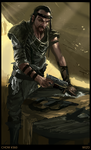 Post-Apocalyptic Gunsmith by SLabreche
