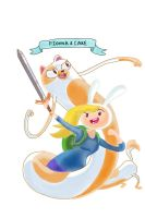 Fionna and Cake by K0NS2