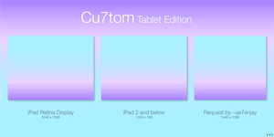 Cu7tom Tablet Edition by TheTechnoToast