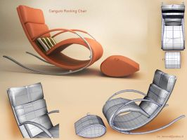 Canguro Rocking Chair by PositiveDope