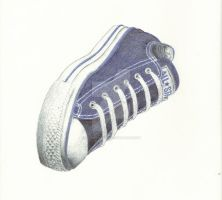 Ballpoint Chuck Taylor by KingOfSoul81