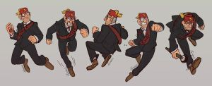Grunkle Stan Poses by MadJesters1