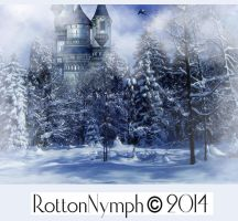 Wintertime premadebackground by rotton-nymph by Rotton-Nymph