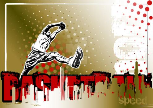 Basketball Poster-01 by ranker666