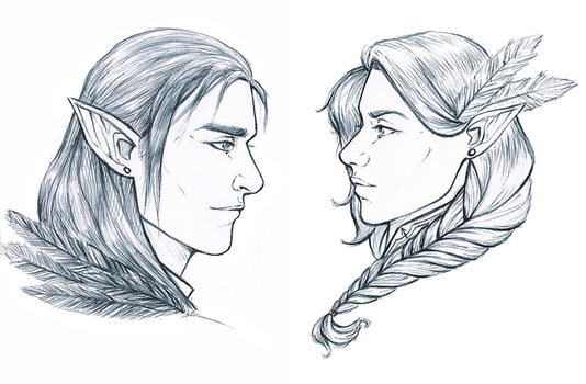 Critical Role: Twins by Vicdin