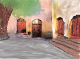 still_life_tuscany ingelineart by Hermione75