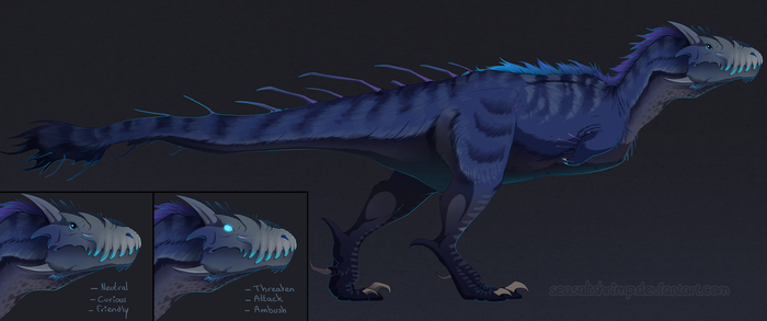 The Isle - Anthomnia Sub Tisso Rex by SeaSaltShrimp