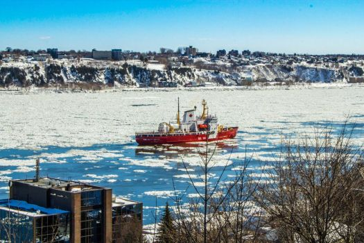 Saint Lawrence River, Quebec City, Quebec by Riot207Photography