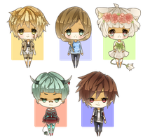 Base Chibi Batch 1 by Miivei