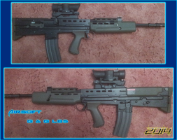 Airsoft L85 by Luckymarine577