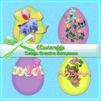 Preview Eastereggs by Creativescrapmom