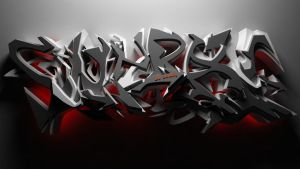DJ SouRay 3d graffiti WILD STYLE by anhpham88