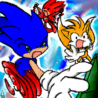 Sonic Heroes don't need grace by Vel-chan