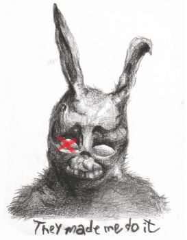 frank the bunny by try-hard-aesthetic