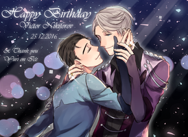 Happy Birthday Victor Nikiforov by Karnelopy