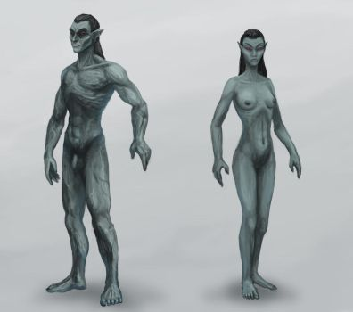 Dunmer Physique by Swietopelk