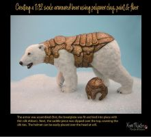 Creating a 1:12 scale armoured bear #16 by Pajutee