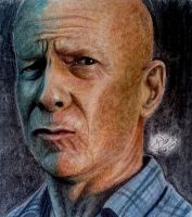 Bruce willis by ZeorosKiza