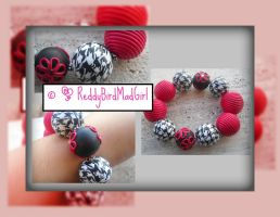 Pied-de-Poul Collection: Bracelet 2 by ReddyBirdMadGirl
