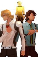 Tiger and Bunny The Rising by uchihakagura1