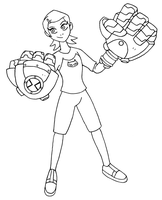 GIANT ROBOT HANDS Gwen by retal4