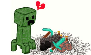 Creeper Heartbreak by CharmandersFlame