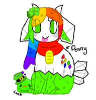 Penny And Luck by CreamyKittens