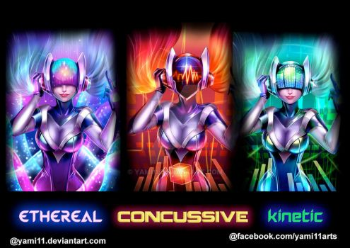 Sona Dj Ethereal , Concussive , Kinetic by yami11