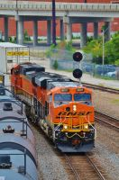 BNSF 8097 east. by Railphotos
