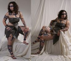 Woad Warrior  6 by lindowyn-stock