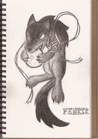 Fenrir by thespianAlto