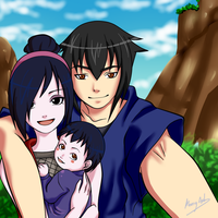 Chiyome Family by xCaeli
