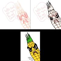 Stages of Angry Corn by somechick73