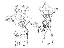 Stu And Didi Pickles by joshead224