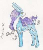 Suicune by MineralRabbit