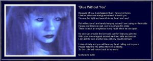 Blue Without You by VisualPoetress