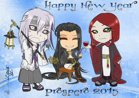 Happy 2015 by UkyoDragoon