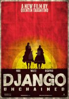 Django Unchained Variant Poster by JSWoodhams