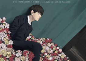 BTS - I NEED U by haemith