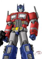 Transformers - Optimus Prime 1 by Mastens