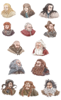 13 Dwarves by FlorideCuts