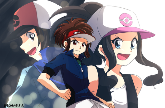 Com: Unova Trainers by ViChaN91312