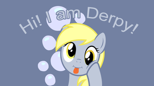 Hi! I am Derpy! - Wallpaper by P3r0