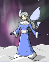 Winter Fairy by roofpig