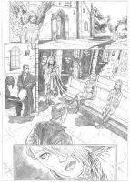 The Darkness Sample - Pages 5 - A3 pencil by IgorChakal
