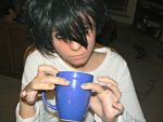 coffie time with L by Llolipop4ever